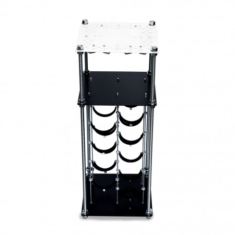 B&W Retro CAVA | Wine Rack Mini Bar