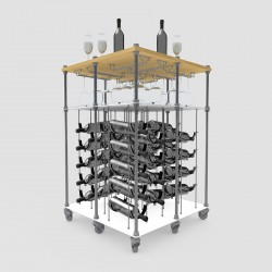 Daydream Island CAVA | Wine Rack Tasting Table