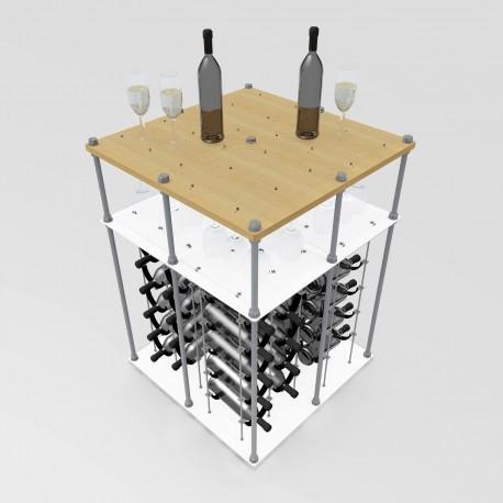 Daydream Island CAVA | Wine Rack Tasting Table