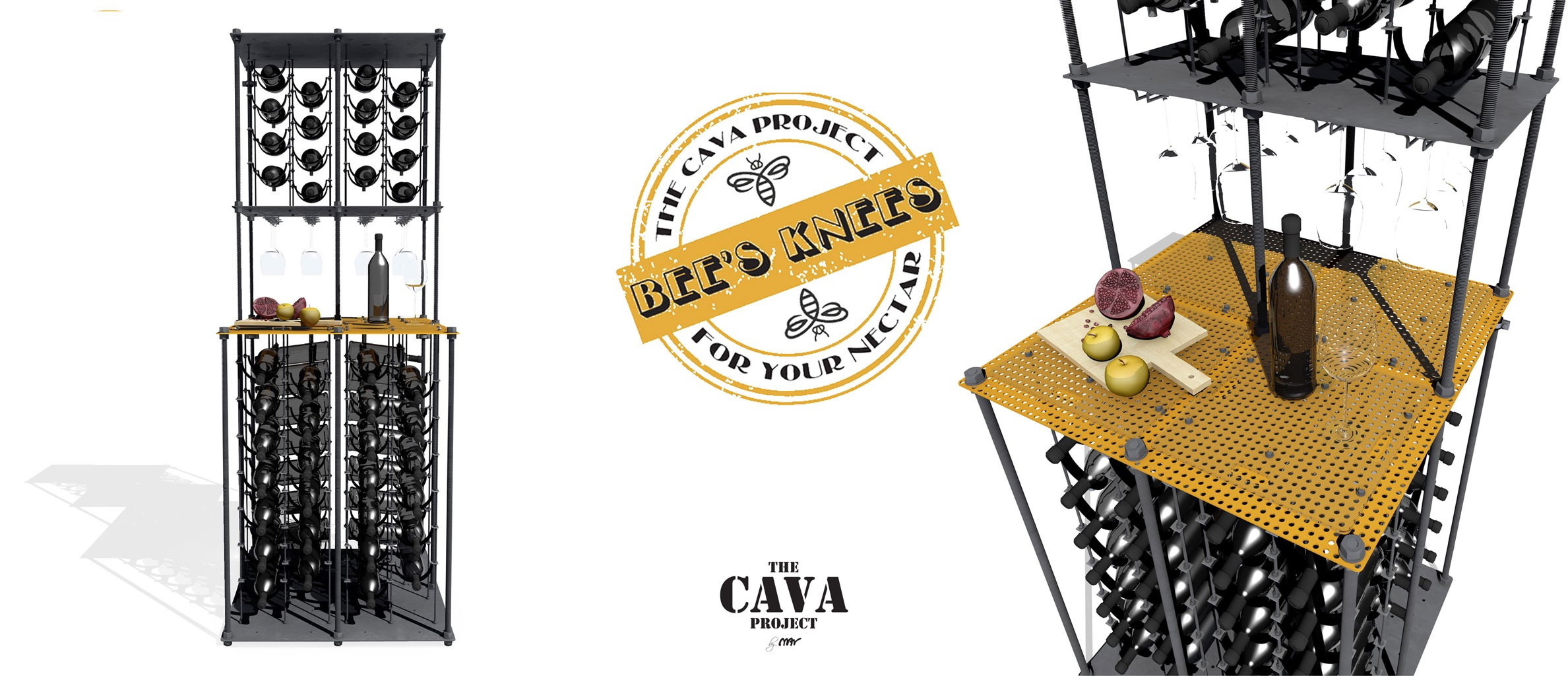 Bees Knees CAVA | Wine Rack Big Bar